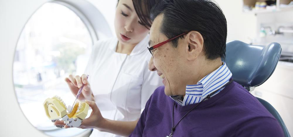 恵比寿で歯周病治療